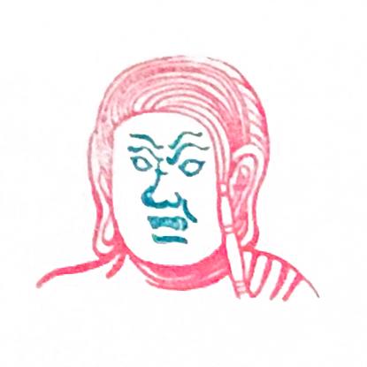 顔出し仏像ハンコ画像2