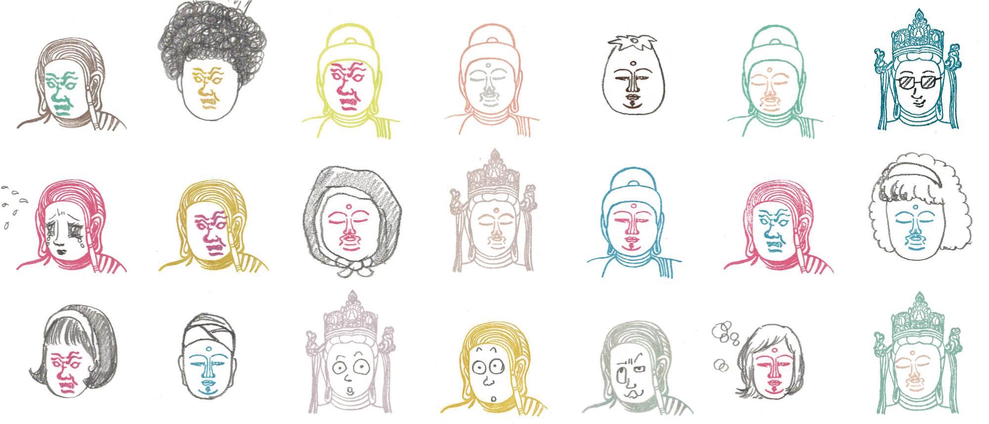 あなただけの仏像が作れる!? 仏像顔出しはんこ